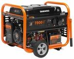 Бензиновый генератор Daewoo Power Products GDA 8500E (7000 Вт)