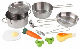 Набор продуктов с посудой KidKraft 11 элементов 63186