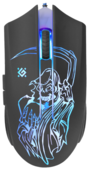 Мышь Defender Ghost GM-190L Black USB