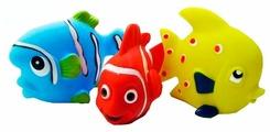Набор для ванной Играем вместе Рыбки (LXB174_173_175)
