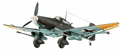 Сборная модель Revell Junkers Ju 87 G/D Tank Buster (04692) 1:72