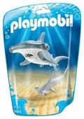 Набор с элементами конструктора Playmobil Family Fun 9065 Рыба-молот с детенышем