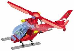 Конструктор Город Игр SuperBlock Авиация MF004461 Вертолет M