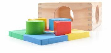 Сортер Мир деревянных игрушек Занимательная коробка