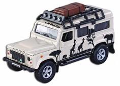 Внедорожник Пламенный мотор Land Rover Defender Сафари (87512) 1:43