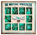 Набор головоломок Eureka 3D Puzzle 10 Metal Puzzles green set (473357) 10 шт.
