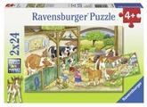 Набор пазлов Ravensburger День на ферме (09195)