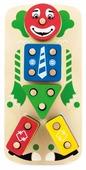 Пирамидка-сортер Мир деревянных игрушек Клоун