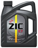 Моторное масло ZIC X7 5W-40 4 л