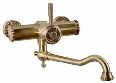 Однорычажный смеситель для ванны Bronze de Luxe 10111