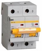 Автоматический выключатель IEK ВА 47-100 2P (C) 10kA