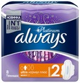Always прокладки Platinum Ultra Normal Plus