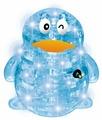 3D-пазл Crystal Puzzle Пингвин светящийся XL (HJ050741), 62 дет.
