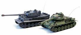 Набор техники Zegan Тигр 1 + T-34 (99824) 1:24