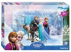 Пазл Step puzzle Disney Холодное сердце (94028), 160 дет.