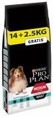 Корм для собак Purina Pro Plan Optidigest ягненок с рисом (для средних пород)