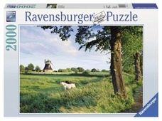 Пазл Ravensburger Сельский пейзаж (16635), 2000 дет.
