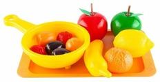 Набор продуктов с посудой Пластмастер Витаминчик 21019
