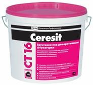 Грунтовка Ceresit CT 16 под декоративные штукатурки (10 л)