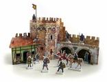 Сборная модель Умная Бумага Угловая башня (253)