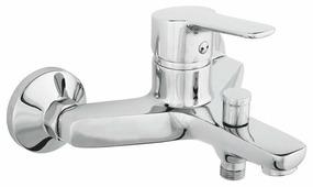 Однорычажный смеситель для ванны с душем Rubineta Uno-10