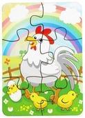 Пазл Мастер игрушек Курица и радуга (IG0074), 6 дет.