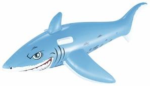 Надувная игрушка-наездник Bestway Большая белая акула 41032 BW