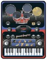 Музыкальный коврик Знаток Домашний оркестр (SLW9881)