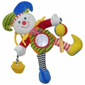 Подвесная игрушка Biba Toys Клоун (MS032)