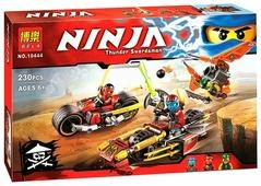 Конструктор BELA (Lari) Ninja 10444 Погоня на мотоциклах