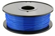 PLA пруток FL-33 1.75 мм синий светящийся