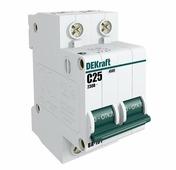 Автоматический выключатель DEKraft ВА-101 2P (D) 4,5kA