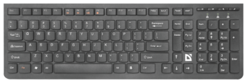 Клавиатура Defender UltraMate SM-535 RU Black USB