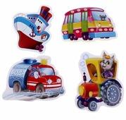 Набор пазлов Vladi Toys Машины-помощники (VT1106-08)