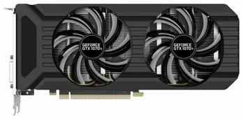 Видеокарта Palit GeForce GTX 1070 Ti 1607MHz PCI-E 3.0 8192MB 8000MHz 256 bit DVI HDMI HDCP Dual