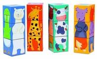 Кубики-пазлы DJECO Животные