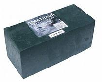 Пластилин ГАММА Студия твердый оливковый 1000 г (2.80.Е100.003)