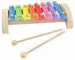 Мир деревянных игрушек ксилофон Д379 8 тонов (металлический)