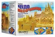 Кинетический песок BRADEX Чудо-песочница Замок