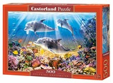 Пазл Castorland Dolphins Underwater (B-52547), 500 дет.