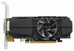 Видеокарта GIGABYTE GeForce GTX 1050 Ti 1328MHz PCI-E 3.0 4096MB 7008MHz 128 bit DVI 2xHDMI HDCP OC Low Profile