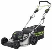Газонокосилка greenworks 2502607 GD82LM51
