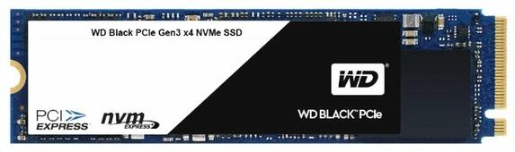 Твердотельный накопитель Western Digital WD Black PCIe SSD 256 GB (WDS256G1X0C)