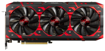 Видеокарта PowerColor Radeon RX Vega 64 1417Mhz PCI-E 3.0 8192Mb 1890Mhz 2048 bit 2xHDMI HDCP Red Devil