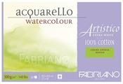Альбом для акварели Fabriano Artistico Extra White 45.5 х 30.5 см, 300 г/м², 20 л.
