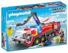 Набор с элементами конструктора Playmobil City Action 5337 Пожарная машина аэропорта