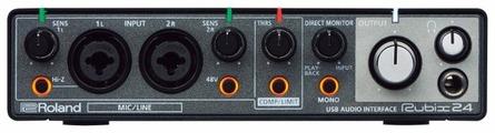 Внешняя звуковая карта Roland Rubix24