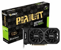 Видеокарта Palit GeForce GTX 1050 Ti 1366MHz PCI-E 3.0 4096MB 7000MHz 128 bit DVI HDMI HDCP Dual OC