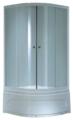Душевой уголок Saniteco SN-JS3-80C высокий поддон 80см*80см