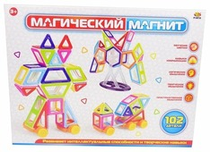 Магнитный конструктор ABtoys Магический магнит PT-00750